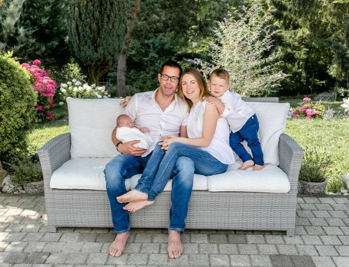 Neugeborenenfotografie in den eigenen 4 Wänden im Elsaß