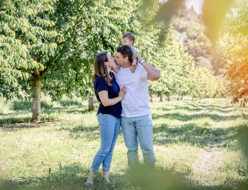 Familien-Shooting im wunderschönen Kappelrodeck zur Kirschernte